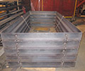 Structural Steel Fabrication of Carbon Steel Sidewalk Gratings & Frames