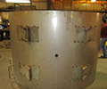 Custom Stainless Steel Fabrication of a Filter/Separator Tank