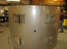 Stainless Steel Filter/Separator Tank